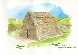 Oratorio precristaiano en la costa de Dingle