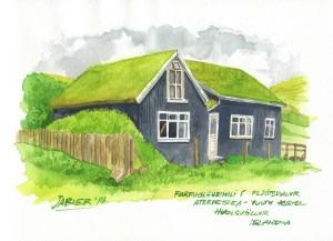 Albergue juvenil de Fljotsdálur. Islandia
