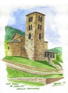 Sant Joan de Caselles, Canillo. Andorra.
