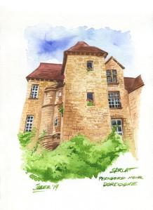 Sarlat La-caneda. Dordogne.