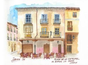Casa en la Plaza de la Catedral. Burgo de Osma
