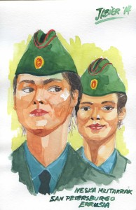 militarrak